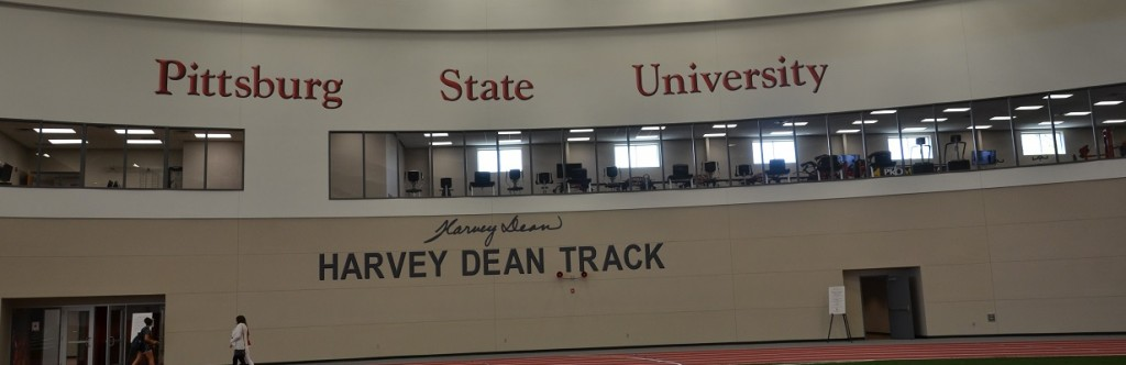 Pittsburgh State University Sports Facility Construction Harvey Dean Track