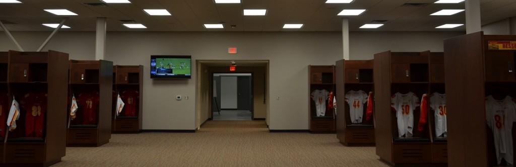 Pittsburgh State University Sports Facility Construction Football Locker Room