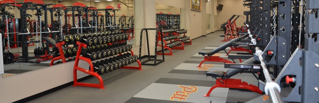 Pittsburgh State University Sport Facility Construction Weight Room