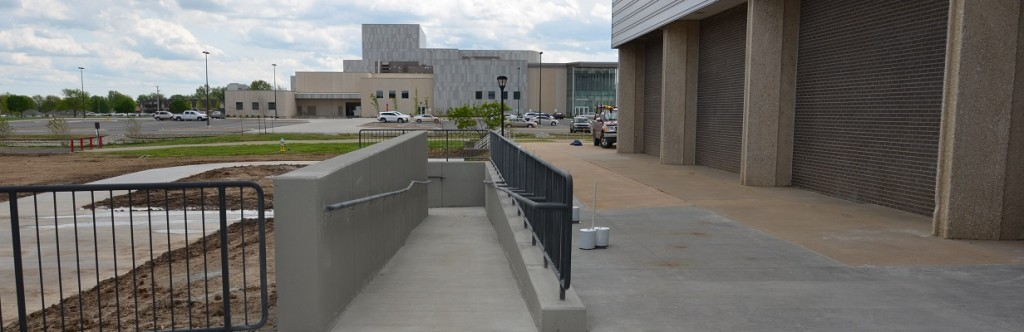 Pittsburgh State University Sport Facility Construction Outdoor Ramp