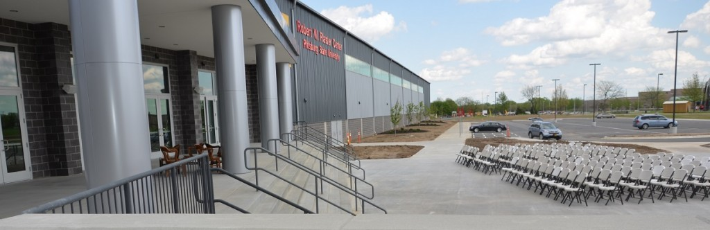 Pittsburgh State University Sport Facility Construction Outdoor Side View