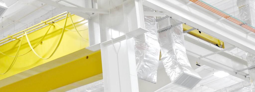 Progressive Industries Industrial Construction Interior Ceiling Beams