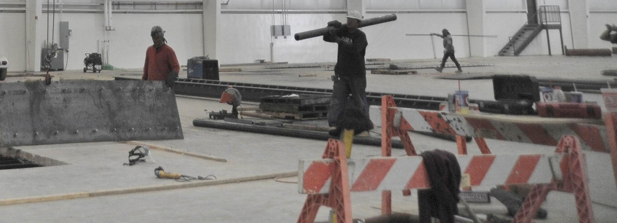 Progressive Industries Industrial Construction Interior Work