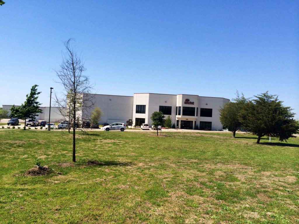 CamTech Manufacturing Industrial Construction Exterior Finished