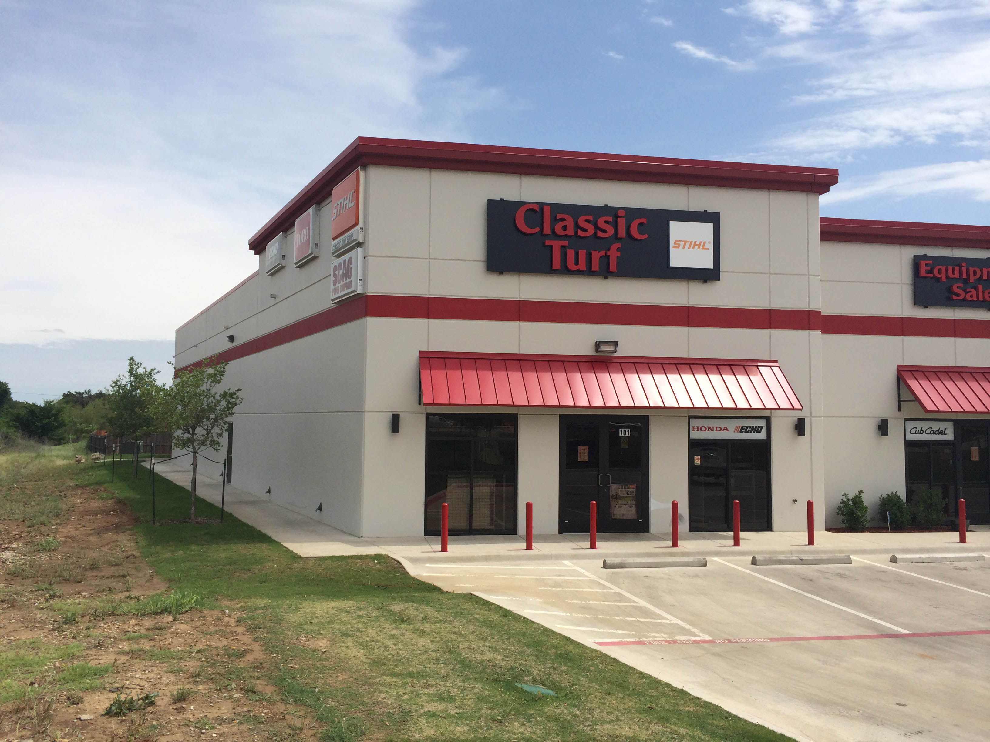 Classic Turf Commercial Construction Exterior View Finished