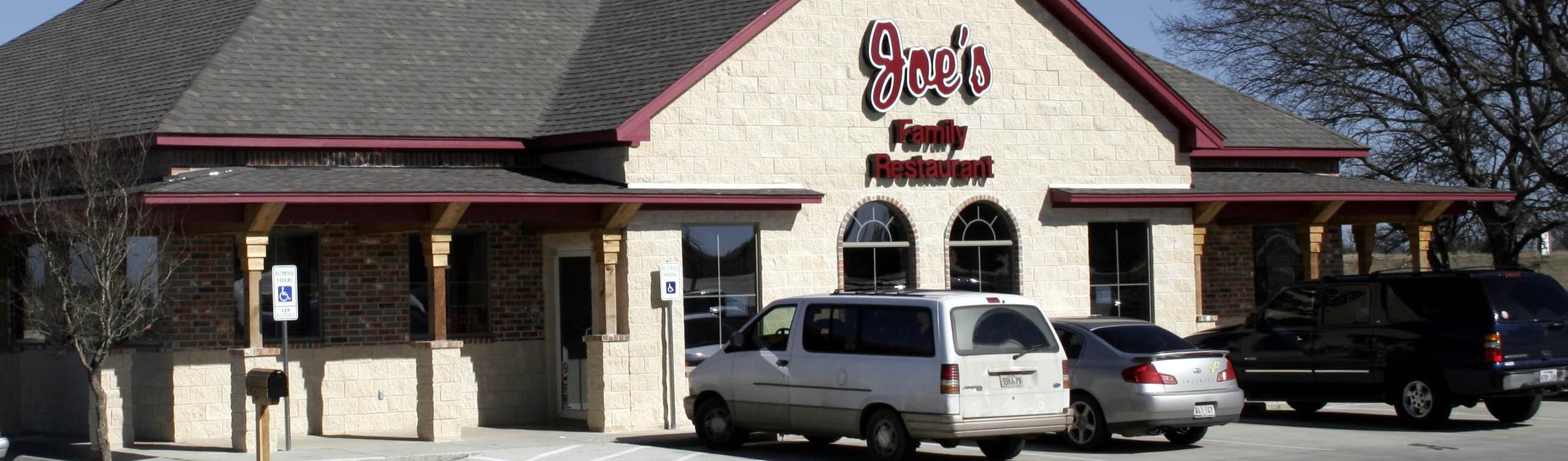 Joes Restaurant Retail Construction Exterior Front