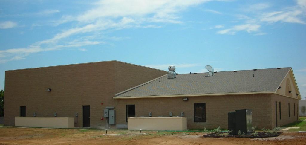 Journey Fellowship Church Construction Exterior Side View