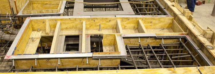 Lockheed Martin Industrial Construction Interior Foundation Continued