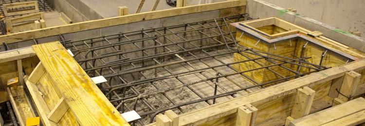Lockheed Martin Industrial Construction Interior Foundation