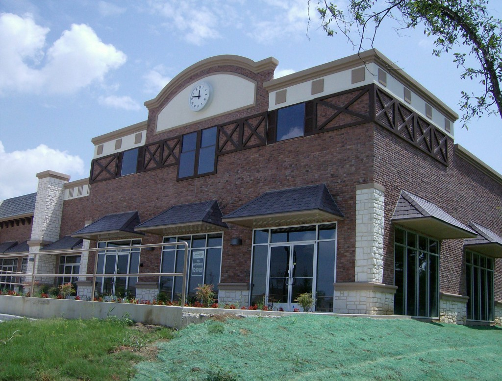 South Cooper Retail Construction Exterior Building