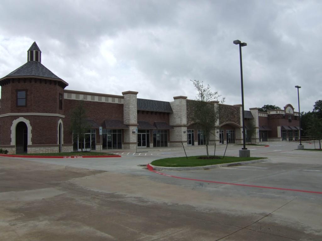 South Cooper Retail Construction Exterior