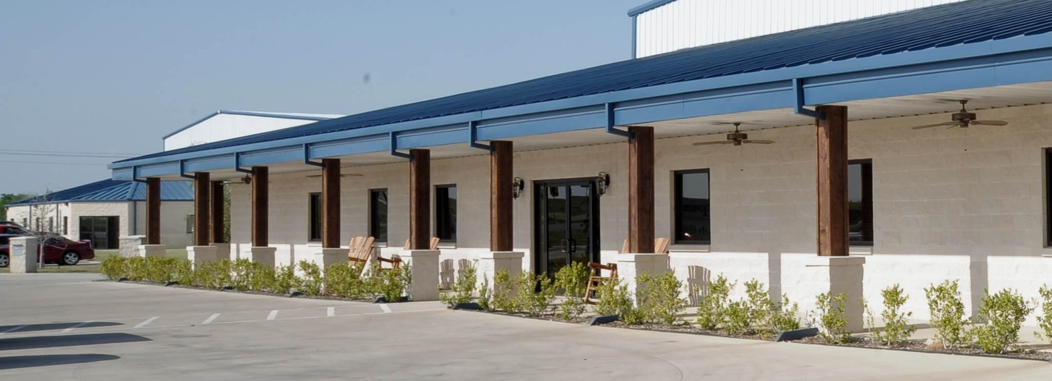 Southern Packaging Industrial Construction Exterior Entrance