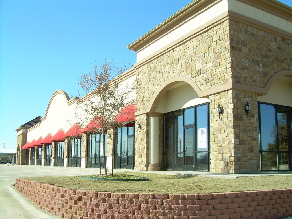 Sublett Retail Construction External View