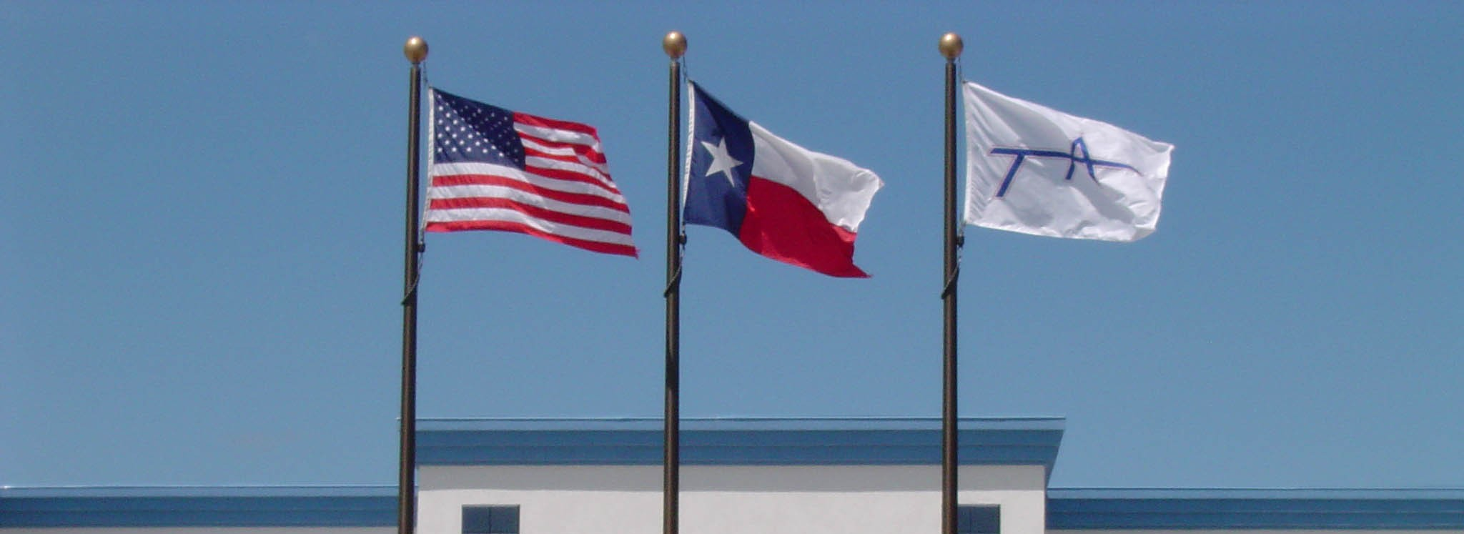 TEAM AMERICA INDUSTRIAL CONSTRUCTION external flags