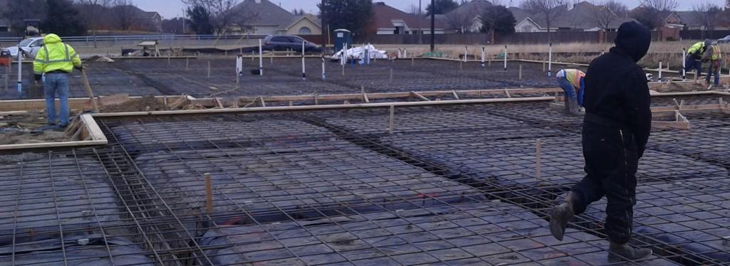 Mansfield Medical Construction Exterior Foundation