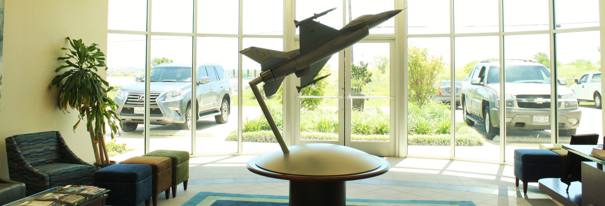 Aerospace & Commercial Tech Industrial Construction Lobby Front