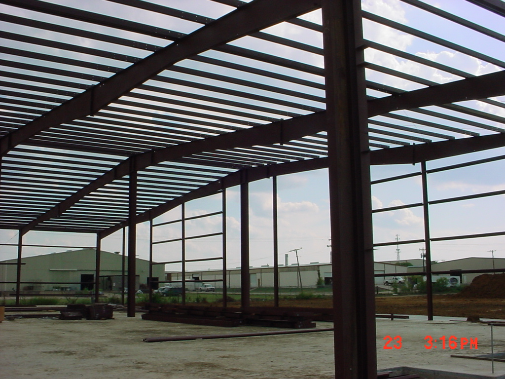 Ardex Industrial Construction Phase I Interior Frame