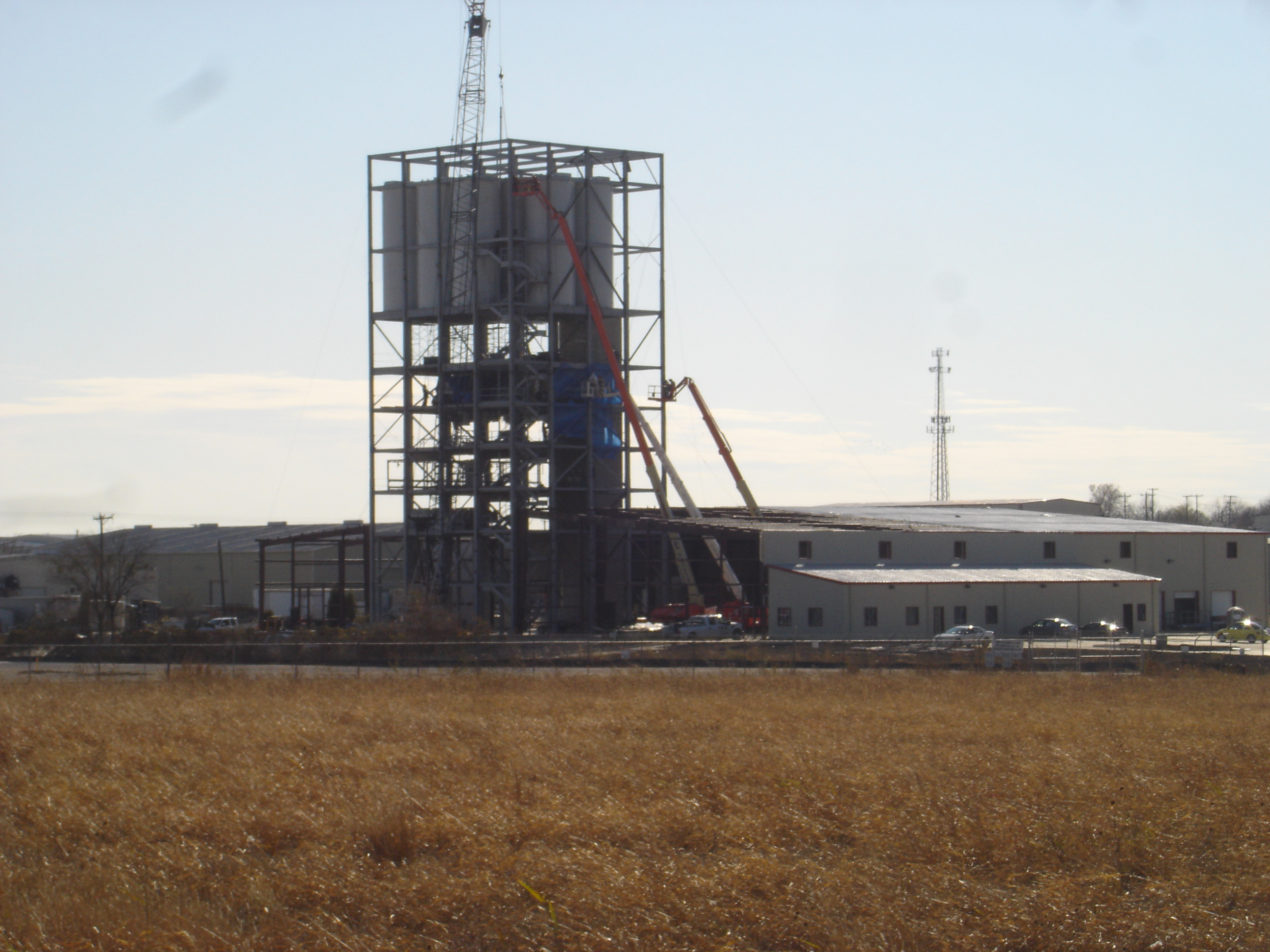 Ardex Industrial Construction Phase I Tower Overview
