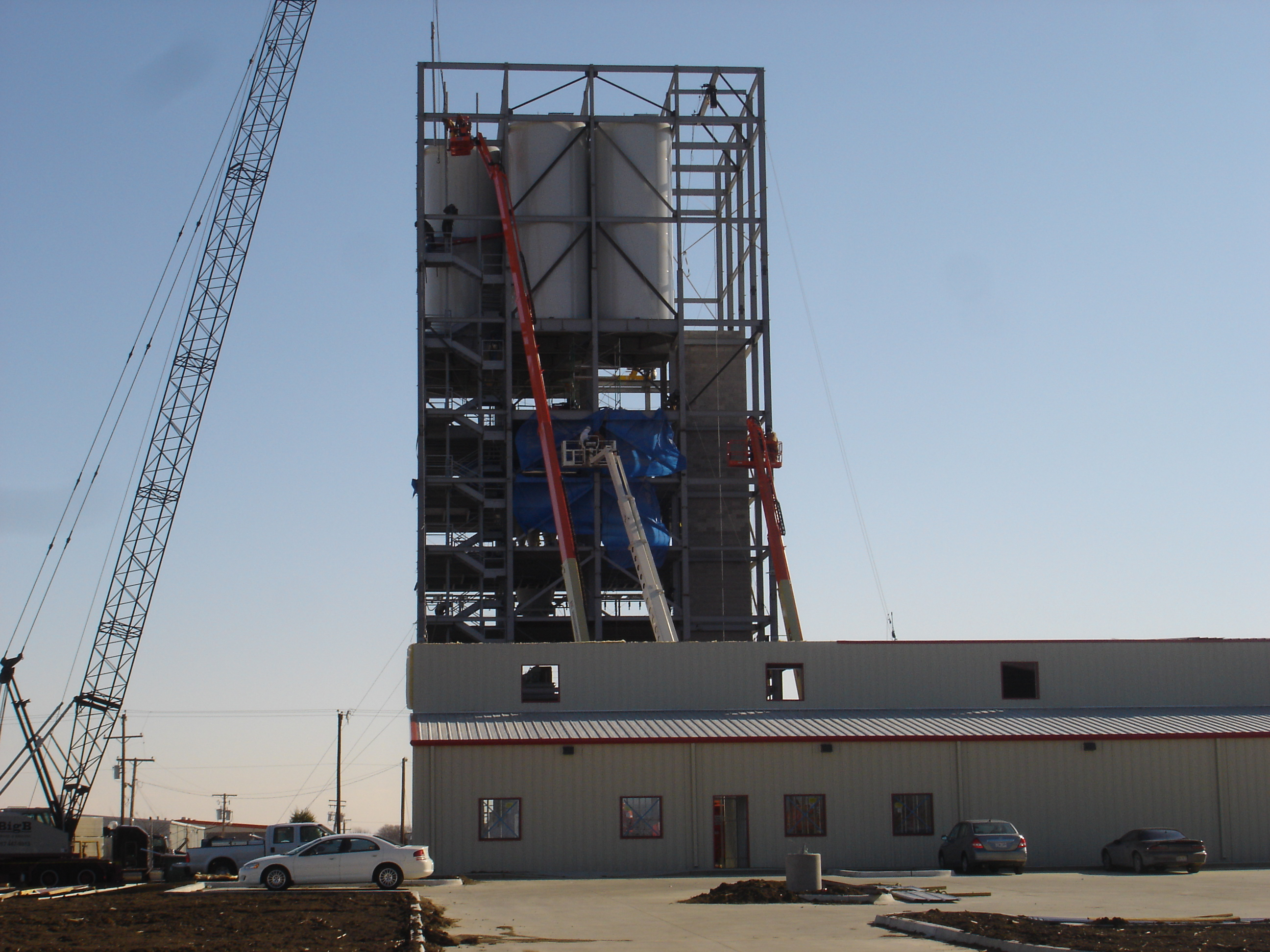 Ardex Industrial Construction Phase I Tower