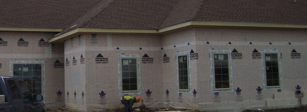 Mansfield Medical Construction Exterior Siding