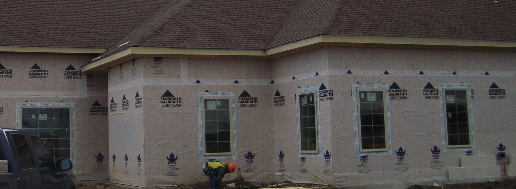 Mansfield Medical Construction Exterior Siding