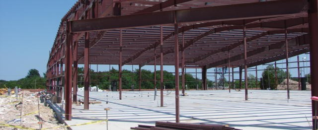 Pepwear Industrial Pre-Construction Framing