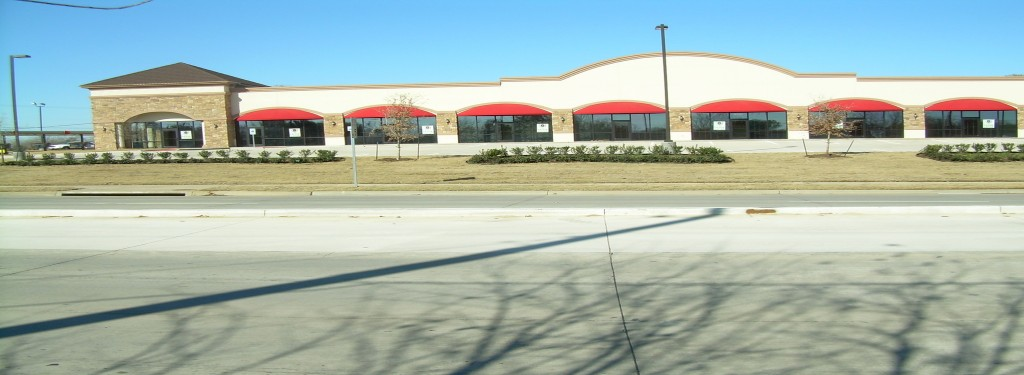 Sublett Rd Retail Construction Street View