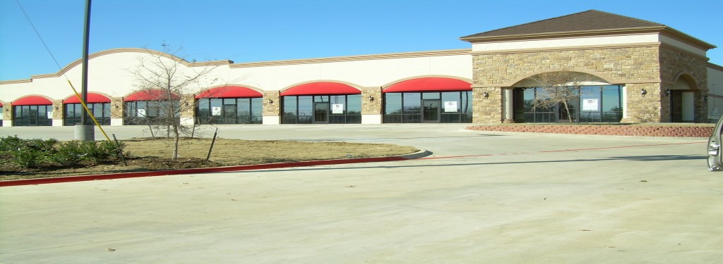 Sublett Rd Retail Construction Exterior