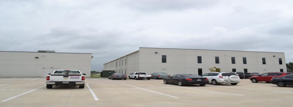 Wyman Gordon Light Industrial Construction Exterior Parking lot