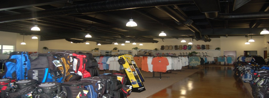 Supreme Golf Retail Construction Interior