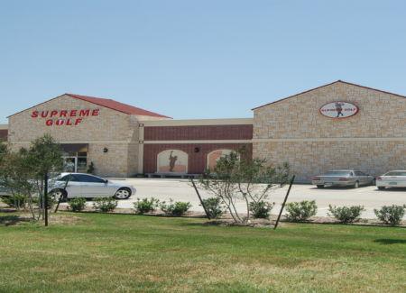 Supreme Golf Retail Construction Exterior Parking Lot