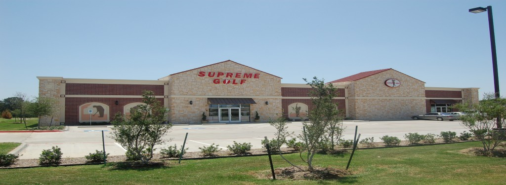 Supreme Golf Retail Construction Exterior