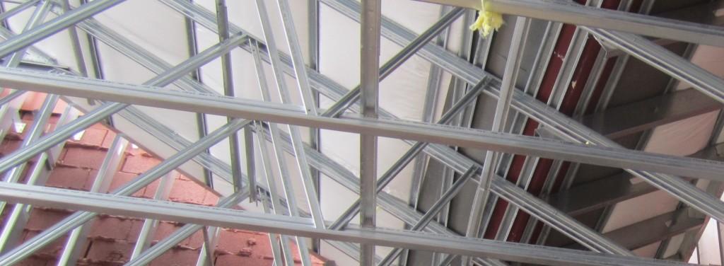 Rush Creek Church Construction Exterior Framing