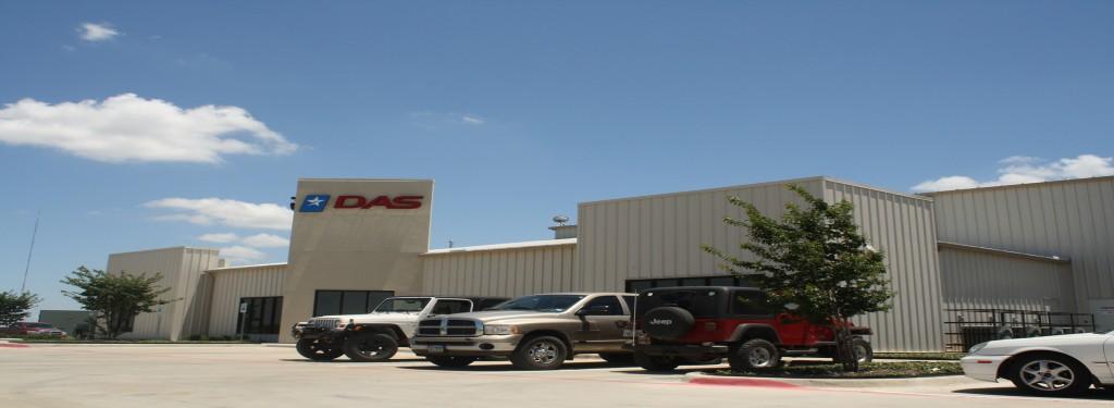 Dallas Aeronautical Services Industrial Construction Exterior