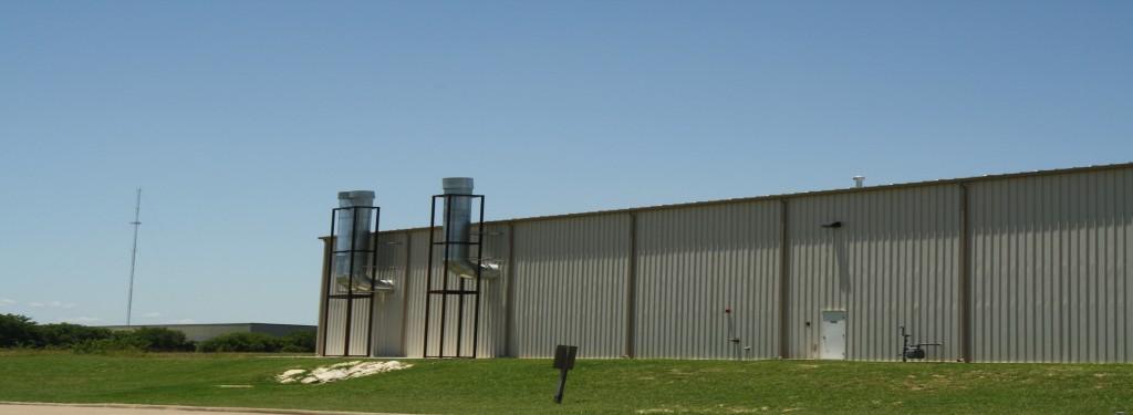 Dallas Aeronautical Industrial Construction Exterior Rear