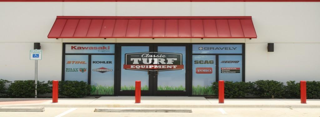 Classic Turf Commercial Building Front Doors