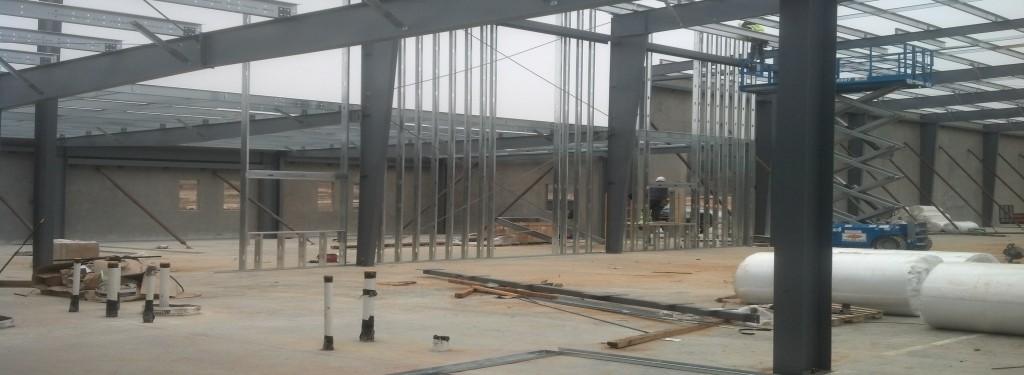Stuart Industries Industrial Construction Interior