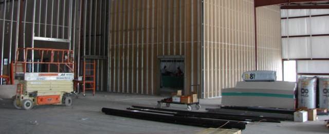 Pepwear Industrial Interior Construction