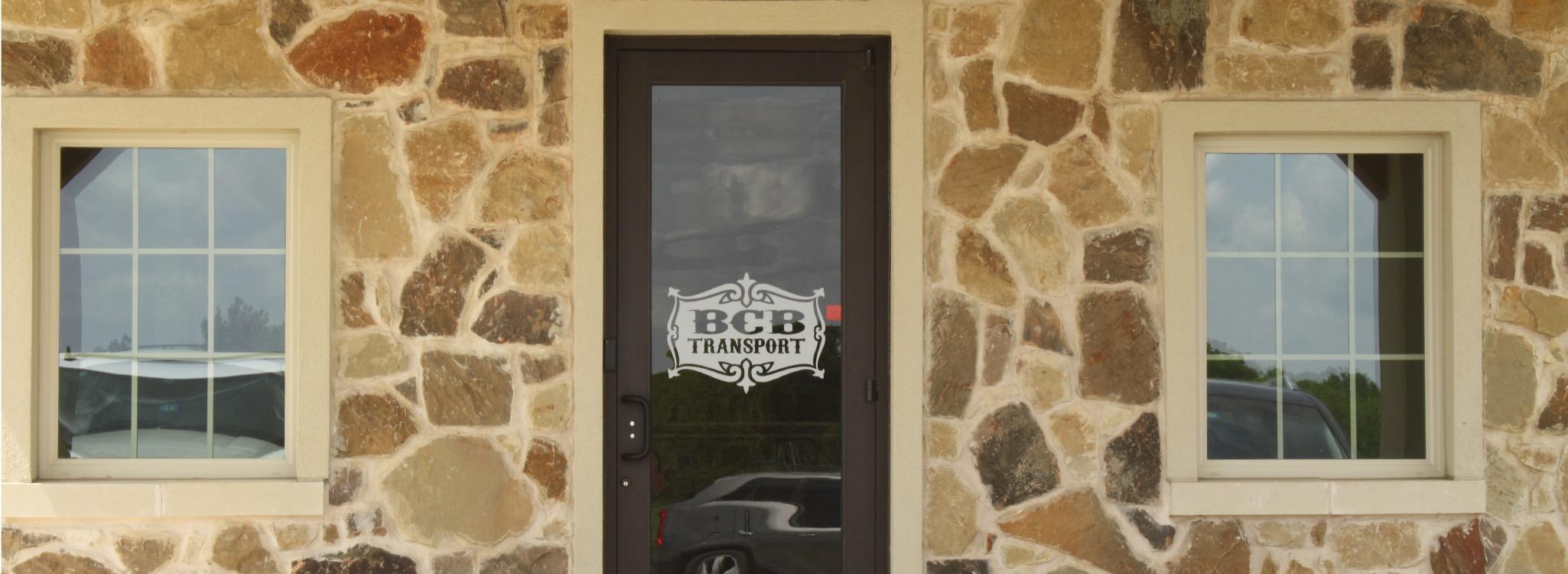 BCB Transport Industrial Construction Front Door