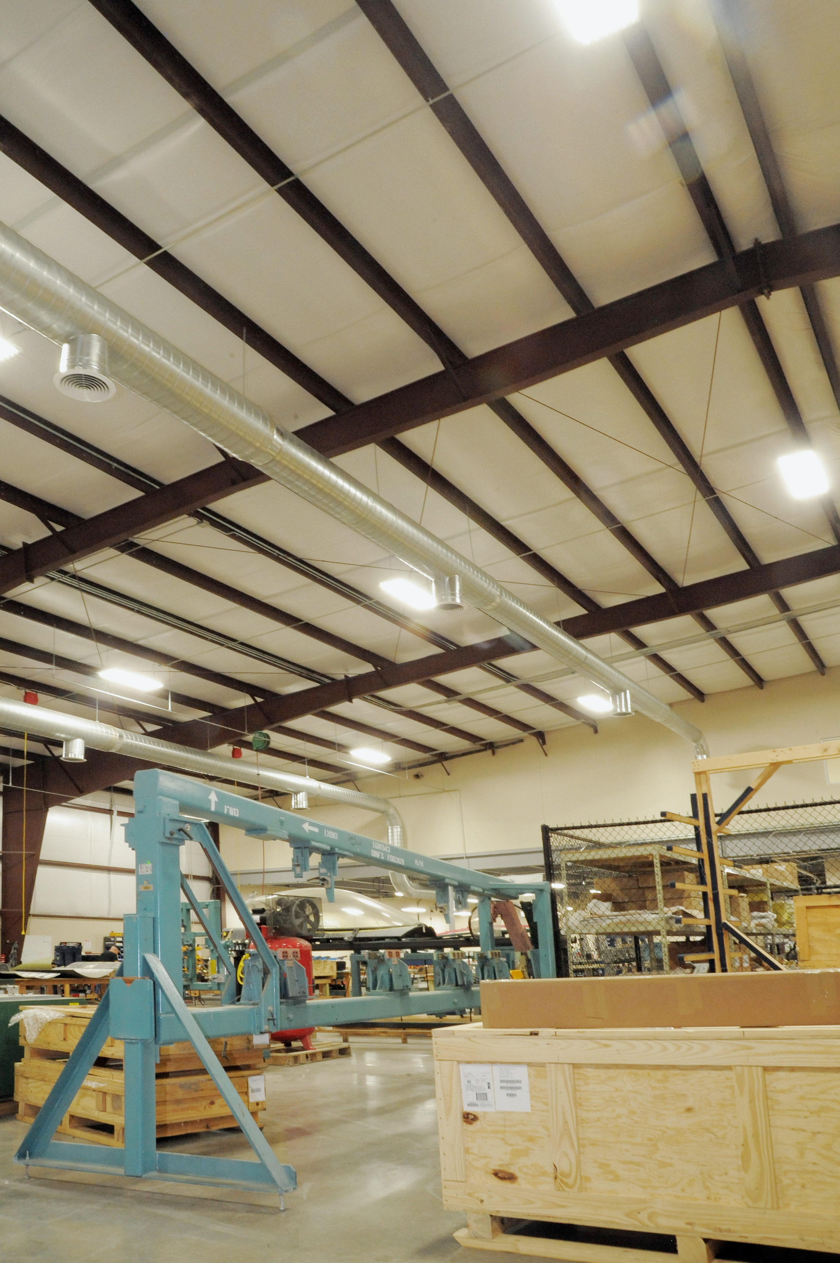 Aerospace Commercial Technology Industrial Construction Interior Frame