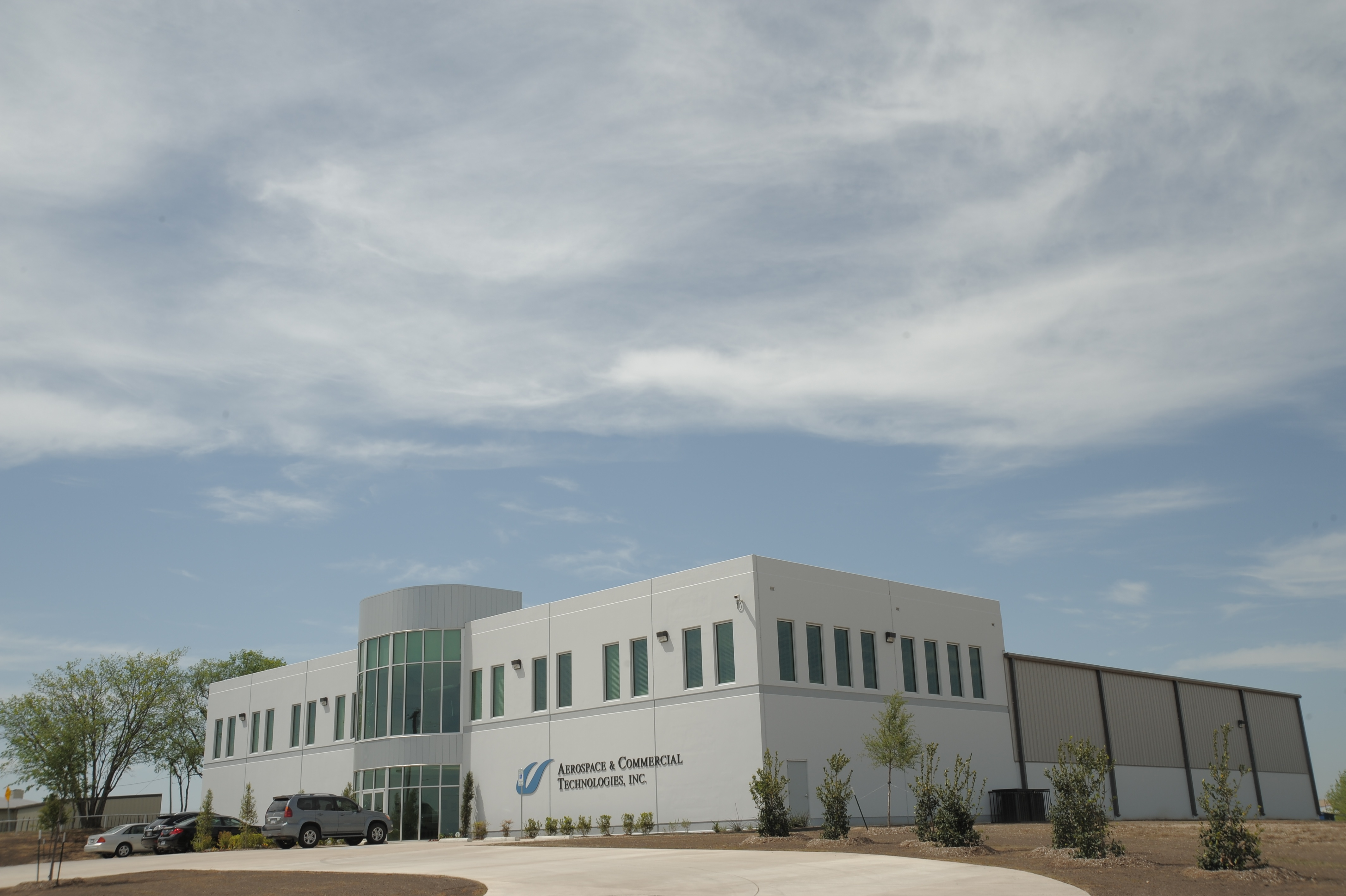 Aerospace Commercial Technology Industrial Construction Exterior View