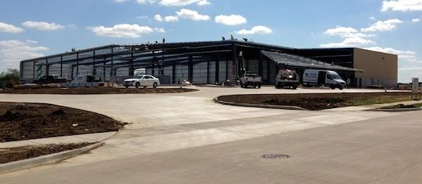 BCB Transport Industrial Construction Exterior Framing