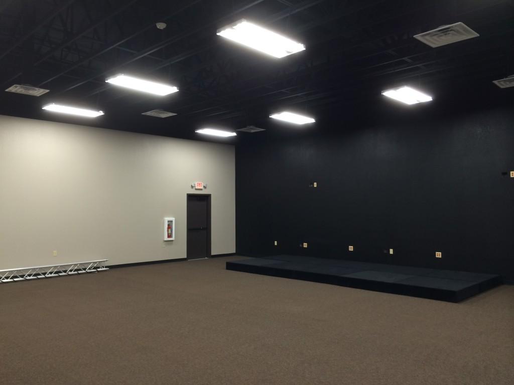 Rush Creek Church Construction Interior Room