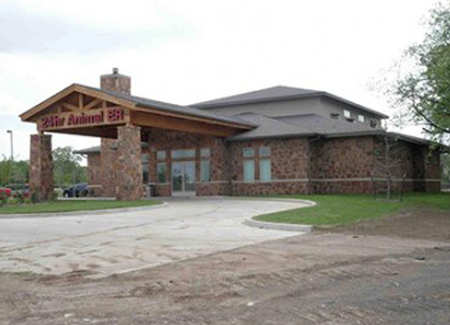 Mansfield Animal Hospital Commercial Construction External