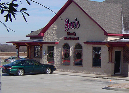 Joes Family Restaurant Commercial Construction Exterior