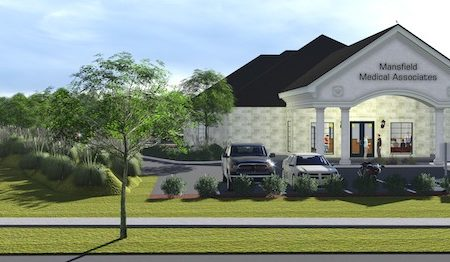 Mansfield Medical Construction 3-D Rendering