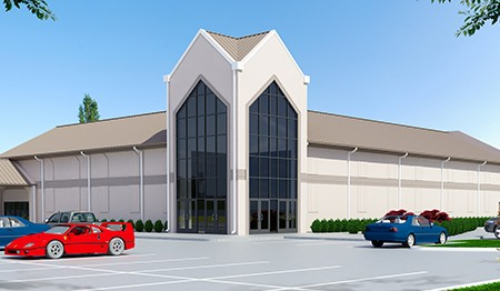 Rush Creek Christian Church 3D Rendering