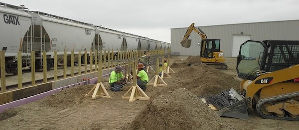 Watco Transload Industrial Construction Phase II Foundation