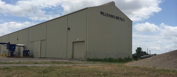 Willbanks Industrial Construction Exterior With Logo