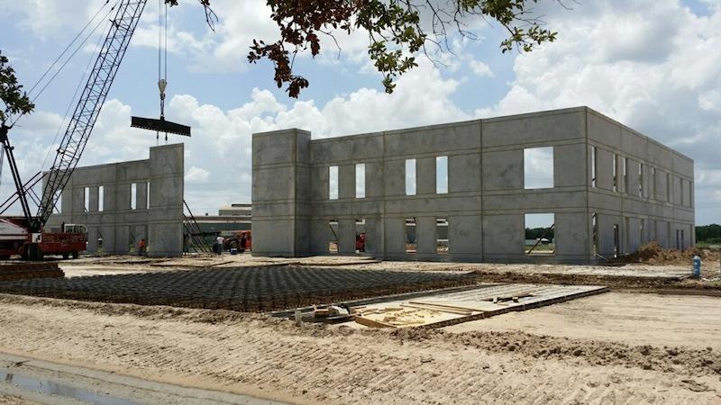 Wyman Gordon Industrial Construction Exterior View Unfinished